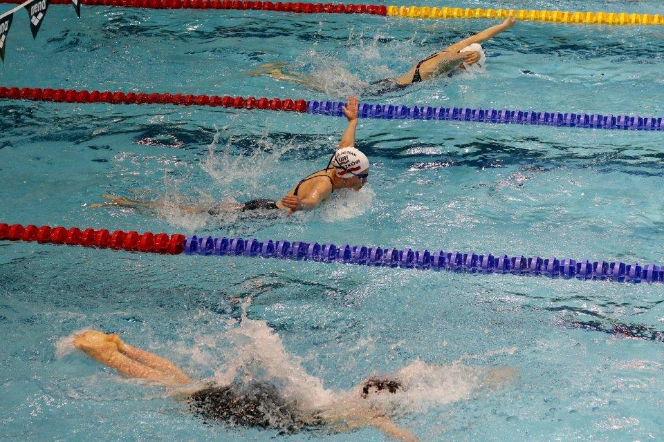 Zimowe mistrzostwa Polski 2016 w pływaniu U-15 na basenie gorzowskiej Słowianki