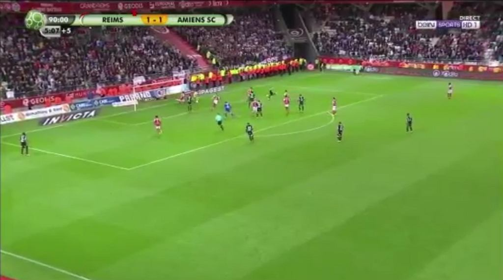 Zwycięski gol dla Amiens
