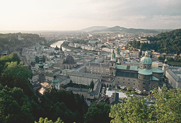 Panorama Salzburga