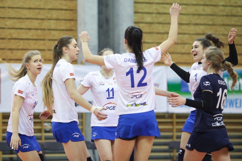 Młodzieżowy zespół Atomu Trefla został mistrzem Polski Młodej Ligi Kobiet