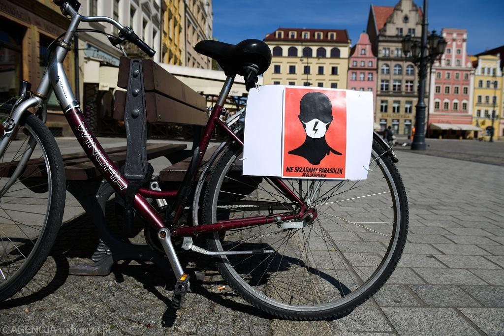 Kwietniowy strajk kobiet przeciwko ustawie antyaborcyjnej (zdjęcie ilustracyjne)