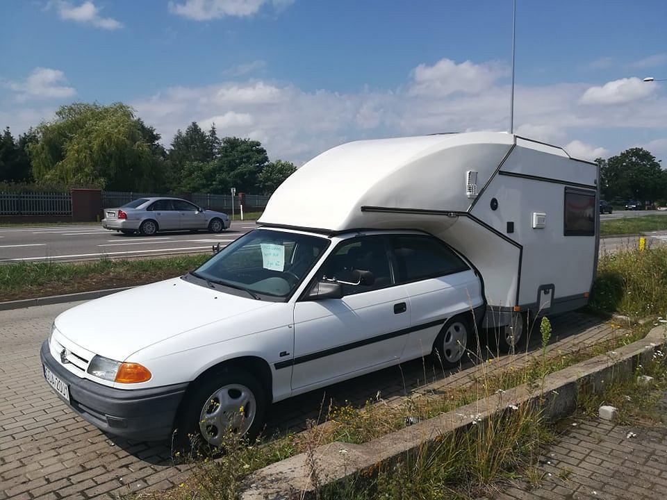 Opel Astra I w wersji kamper