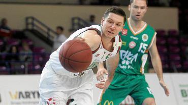 Legia pokonała AZS UMK Toruń 82:67, przy piłce Paweł Podobas