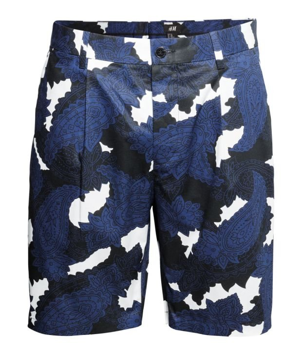 Spodenki z kolekcji H&M. Cena: 99,90 zł, moda męska, h&m, spodnie
