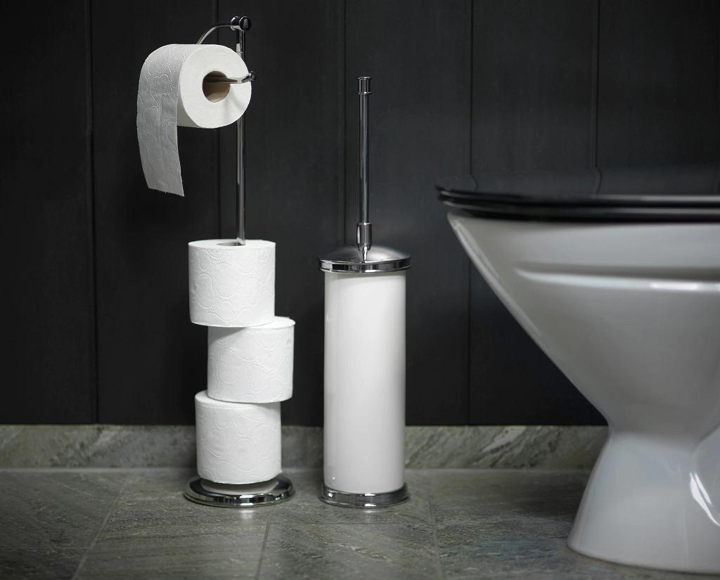 Klasyczny stojak na papier toaletowy