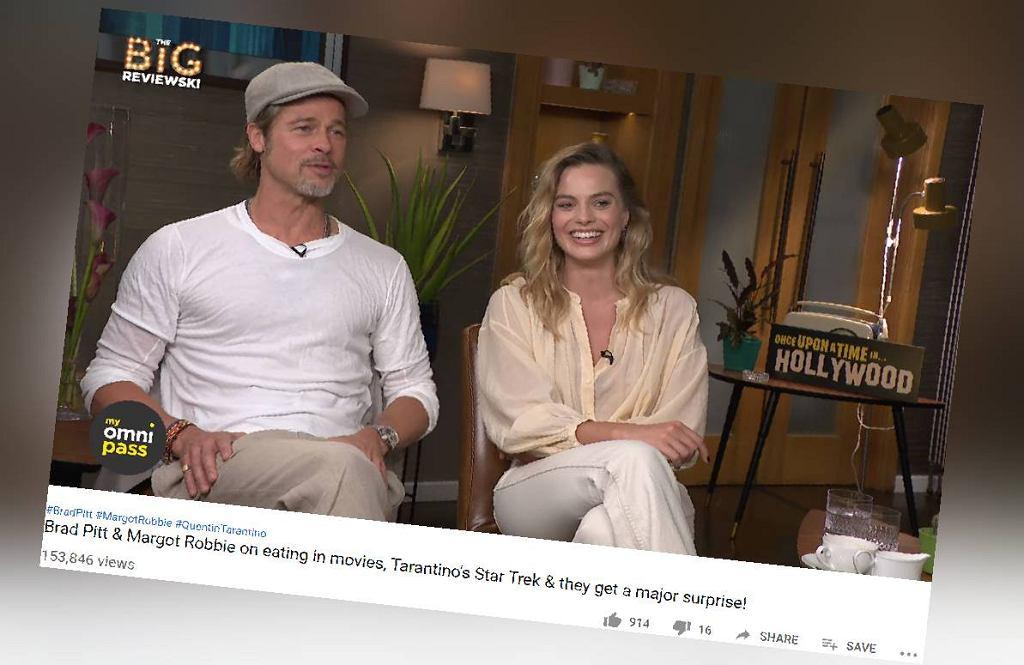 Brad Pitt i Margot Robbie o koljenym filmie Quentina Tarantino
