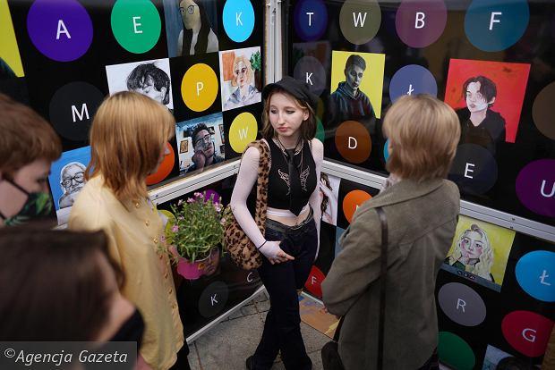 Zdjęcie numer 12 w galerii - Młodzi plastycy przekonywali częstochowian: Kultura nie boli [ZDJĘCIA]
