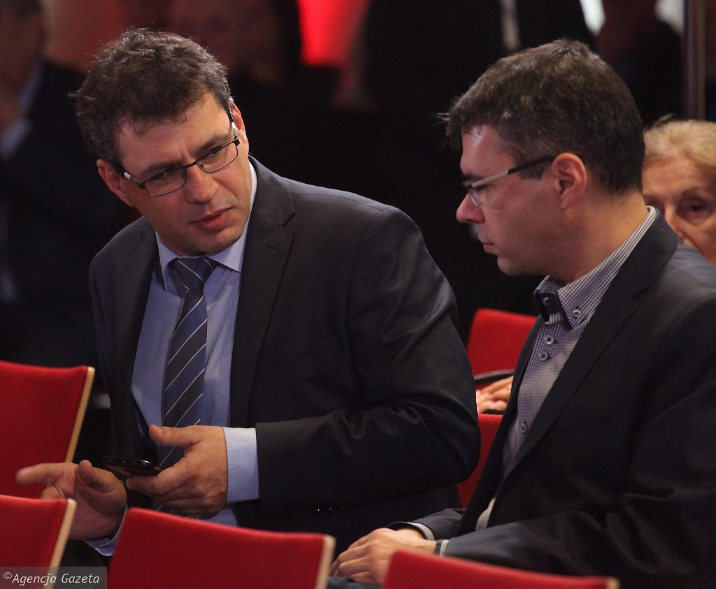 Jacek Karnowski i Michał Karnowski