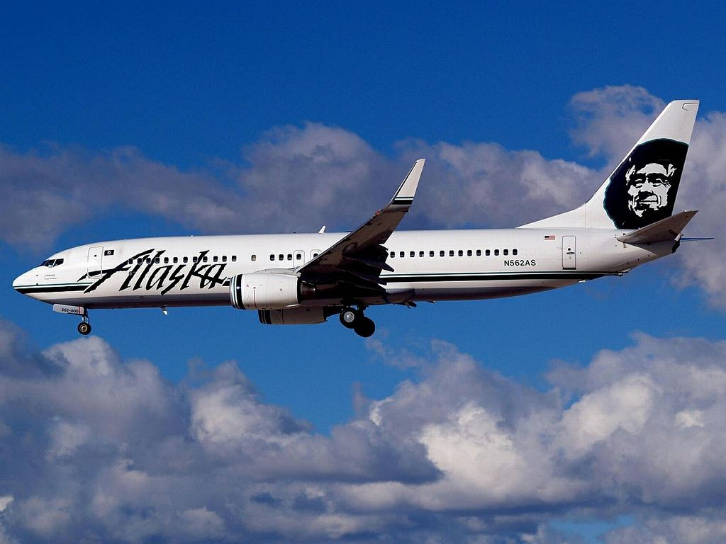 Samolot linii lotniczych Alaskan Airlines