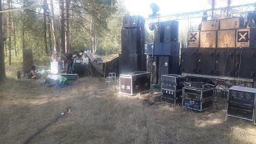 Dolny Śląsk: impreza w środku lasu