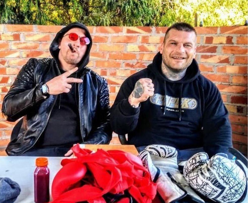 Andrei Mołczanow i Popek