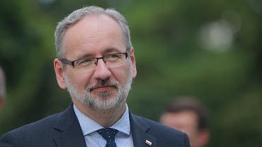 Minister zdrowia w rządzie PiS Adam Niedzielski. Białystok, 25 czerwca 2021