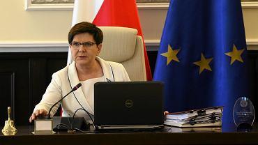 Premier Beata Szydło (fot. Sławomir Kamiński/AG)