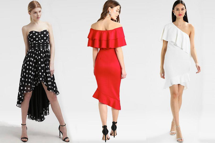 bf0f2ec7191a41 Nowy trend! Asymetryczność. Wybieramy najpiękniejsze sukienki