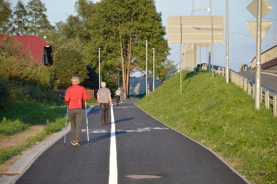 Droga rowerowa wzdłuż obwodnicy południowej