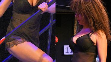 """Katarzyna Glinka wystąpi w spektaklu """"Czego nie widać"""" w Teatrze Kwadrat.  Jeśli chodzi o aktorkę, widać akurat całkiem sporo. Aktorka występuje w bardzo seksownej bieliźnie. Zdjęcie z próby robią wrażenie!"""