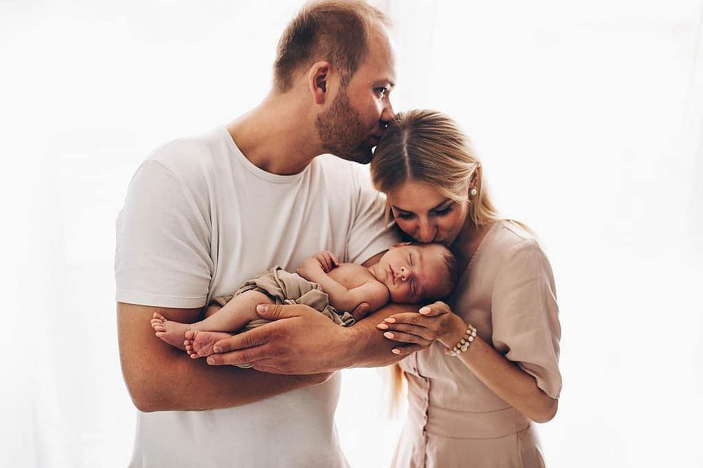 Anita i Adrian z synem