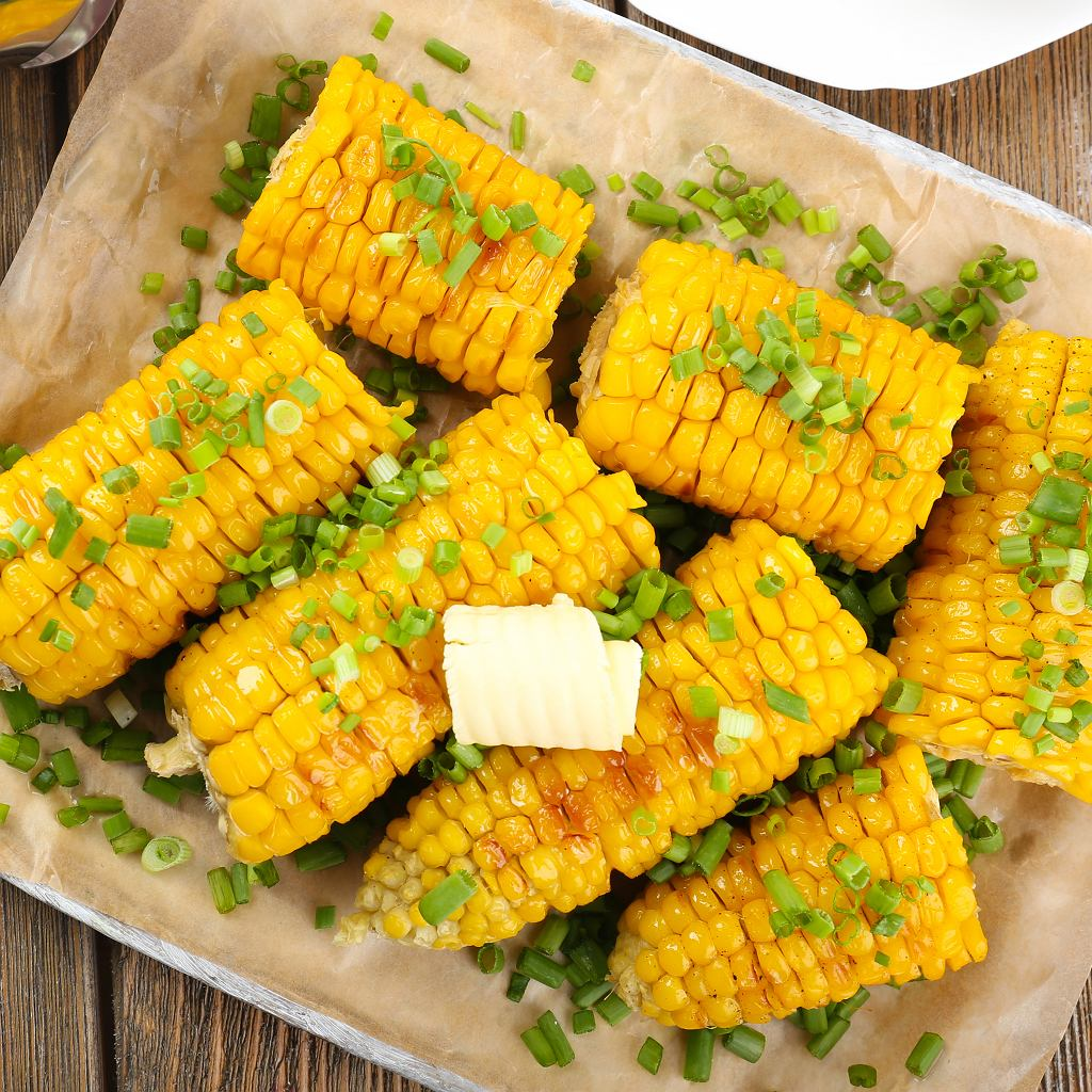 Grillowane kolby kukurydzy