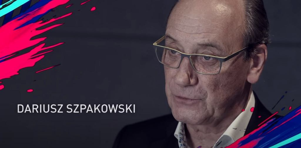 Dariusz Szpakowski w serii FIFA