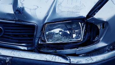 Wypadek pod Radomiem. Wielogóra. Zderzenie dwóch samochodów