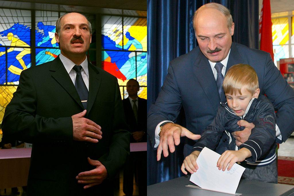 Alaksandr Łukaszenka z synem