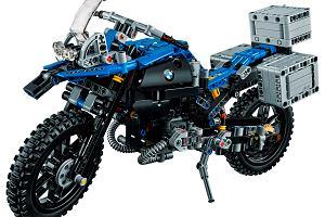 BMW R 1200 GS Adventure z klocków LEGO