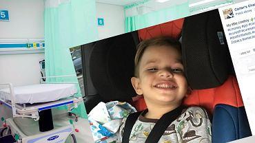 Carter cierpi na nieuleczalną chorobę Sanfilippo