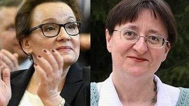 Minister Anna Zalewska i Urszula Dudziak
