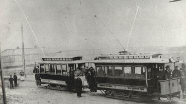 Pierwszy tramwaj, który wyjechał na łódzkie szyny