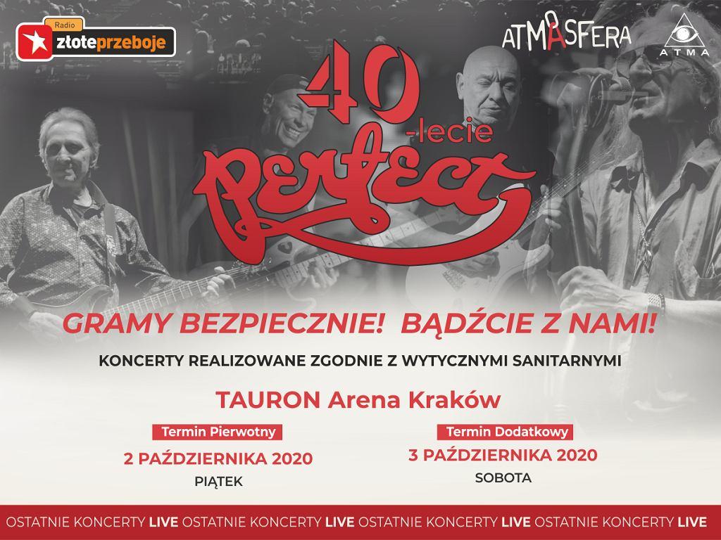 Ostatnie koncerty LIVE zespołu PERFECT w Krakowie!