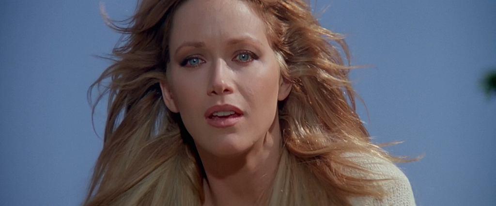 Tanya Roberts w filmie 'Zabójczy widok' / kadr z filmu