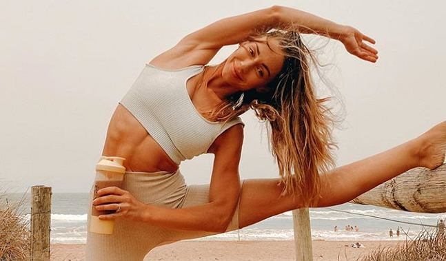 Krystal dba nie tylko o aktywność fizyczną, ale i odpowiednią dietę.