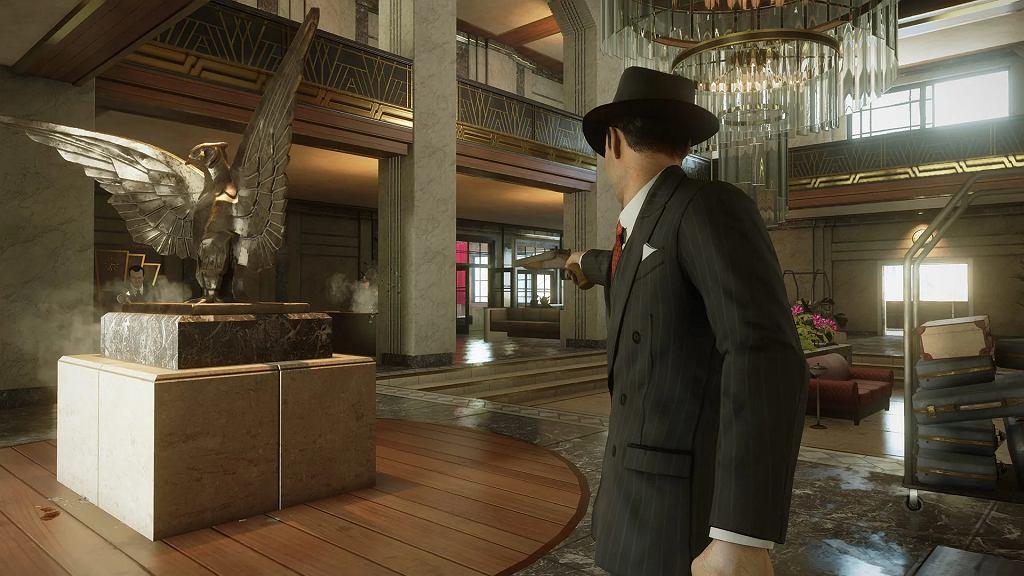 Lokalizacje w Mafia: Definitive Edition to majstersztyk, chciałoby się więcej monumentalnych galerii, banków i kościołów!