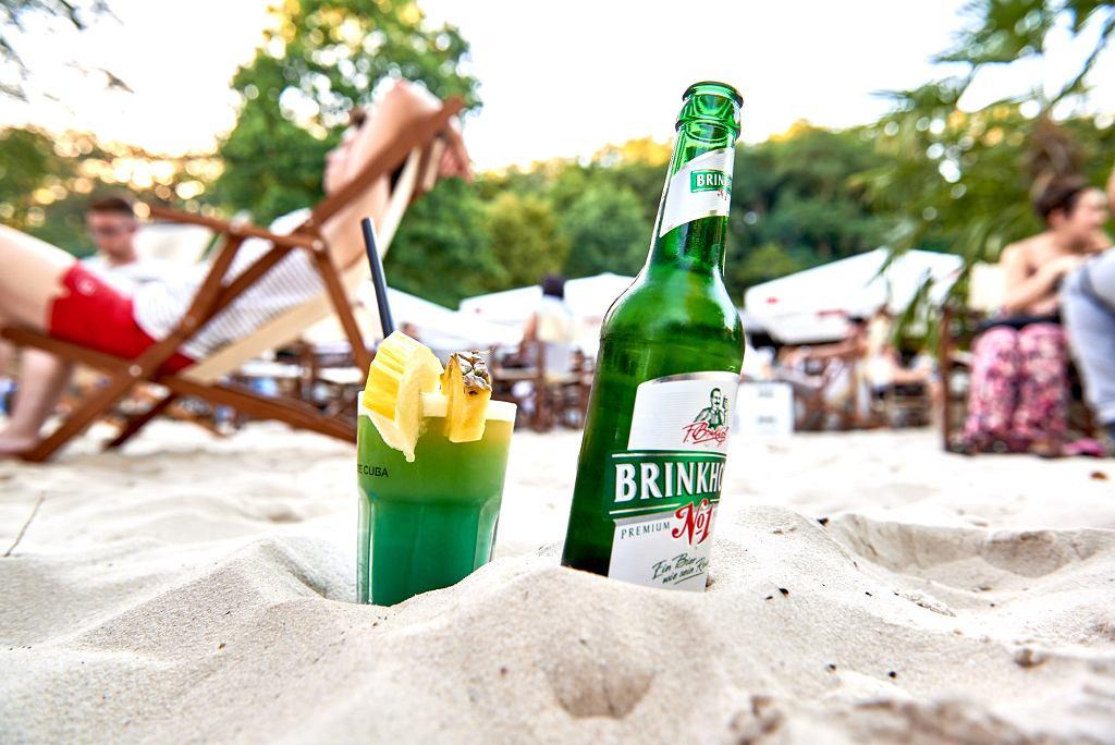 Bochum, plaża Strand Deck nas jeziorem Kemnader See