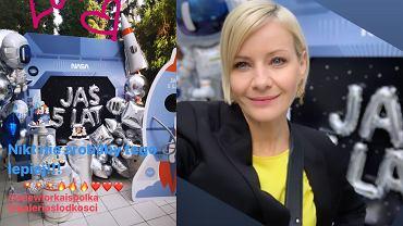Kożuchowska opublikowała zdjęcia, które przedstawiają przyjęcie urodzinowe jej pięcioletniego syna.