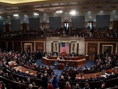 Izba Reprezentantów. Zdjęcie ilustracyjne