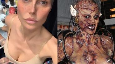 Heidi Klum pokazała przebranie na Halloween