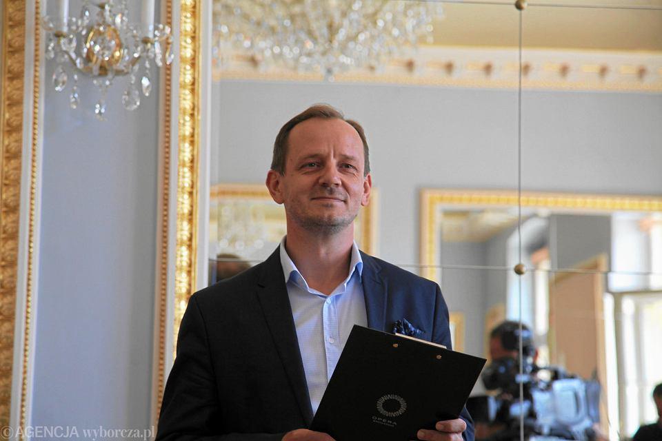 Marcin Nałęcz - Niesiołowski grozi procesem karnym Michałowi Bobowcowi odpowiedzialnemu na kulturę w regionie.