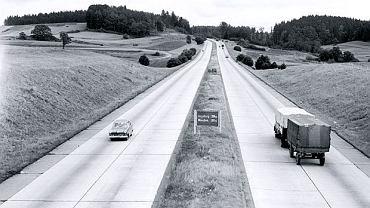 Początki niemieckiej autostrady