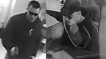 Morderca prezydenta Pawła Adamowicza Stefan W. spędził kilka lat w więzieniu za napady na placówki bankowe (zdjęcia z monitoringu).