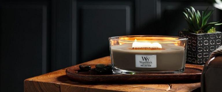 HIT: świece WoodWick z drewnianym knotem