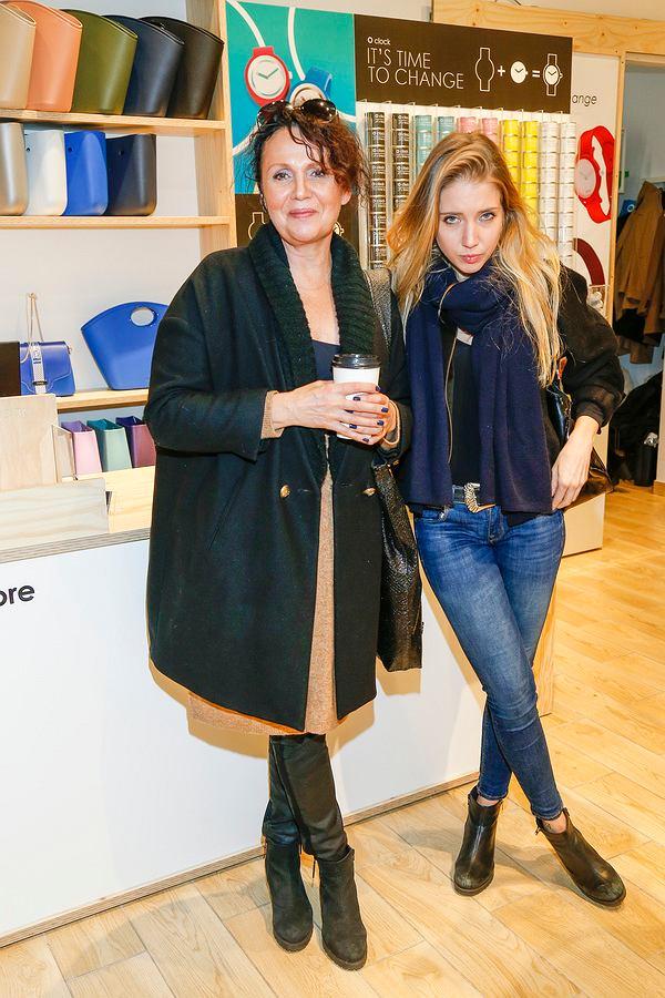 Małgorzata Pieńkowska z córką