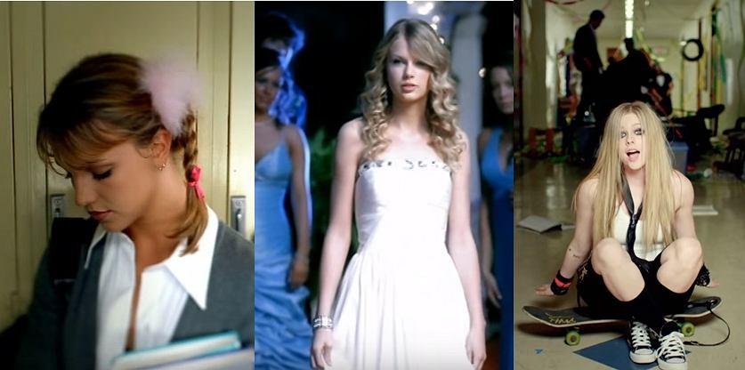 Britney Spears, Taylor Swift, Avril Lavigne