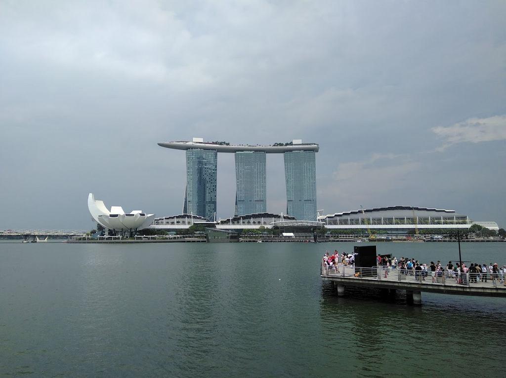 Widok na Marina Bay