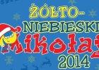 Żółto-niebieski Mikołaj. Kibice Arki pomagają dzieciom