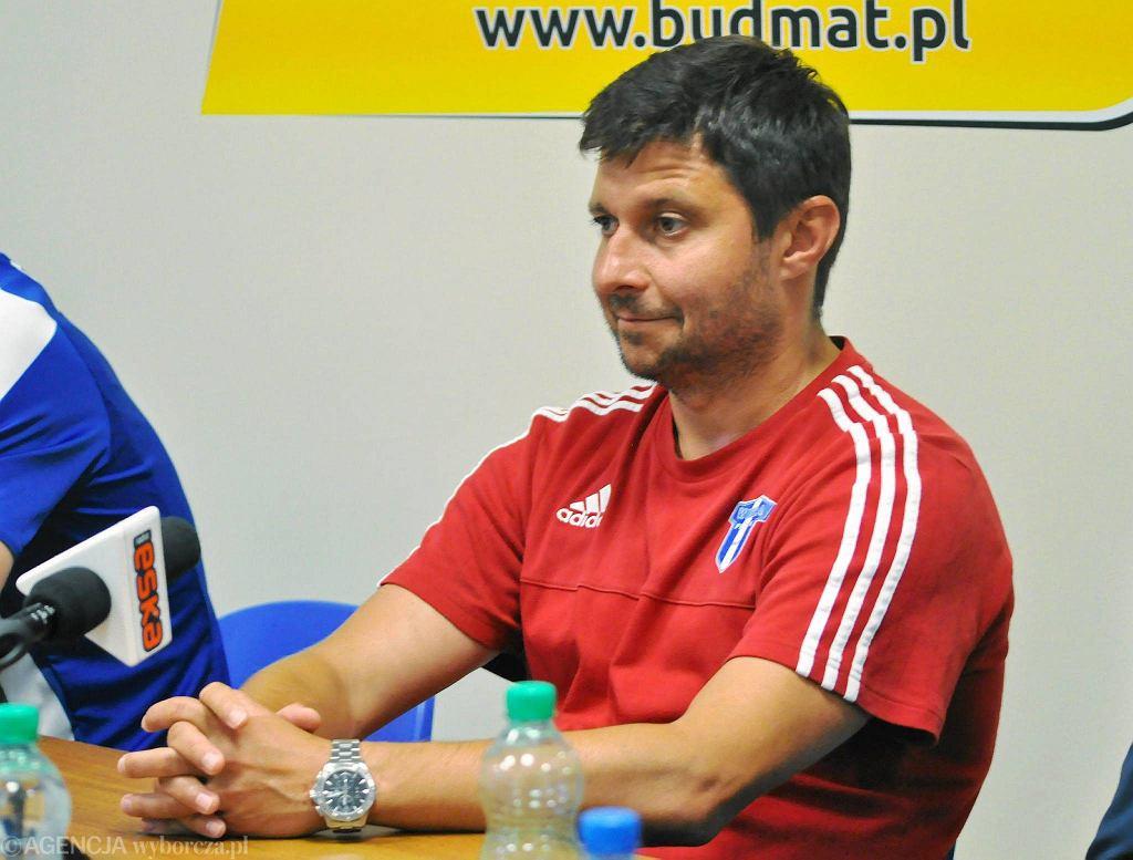 Trener Wisły Marcin Kaczmarek