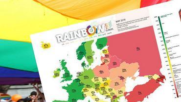 Polska znalazła się na homofobicznym podium.