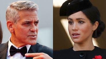 George Clooney, Meghan Markle