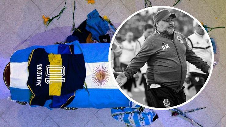 Maradona przed śmiercią zostawił rodzinie list. Miał ostatnie życzenie