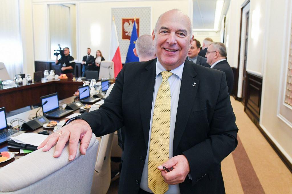 Minister finansów Tadeusz Kościński.